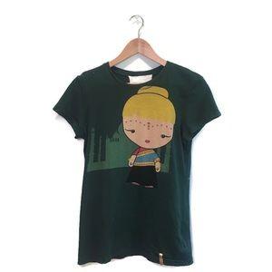 NWOT Harajuku lovers t-shirt, Gwen Stefani, Medium